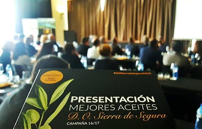 170222_presentación de los mejores aceites D.O. Sierra de Segura